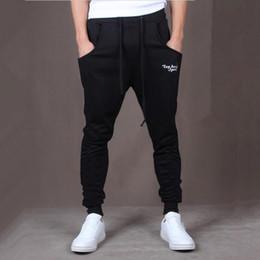 Wholesale Hot Men Sweatpants - Wholesale-Hot! New Brand Mens Joggers Casual Harem Sweatpants Sport Pants Men Gym Bottoms Track Training Jogging Trousers+