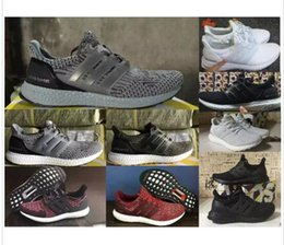 Wholesale Free Skate Shoes - 2017 Ultra Boost 3.0 Nmd R2 Classic Men & Women Fashion Casual Shoes Cheap Leather Skate Shoes Free Shipping Walking Hiking 36-45