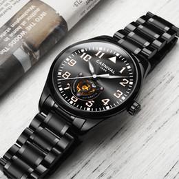 ddf74056072 2019 marcas de relógios mão Marca de luxo Carnaval Suíça Homens Relógios  Mecânicos Assista Men Oco