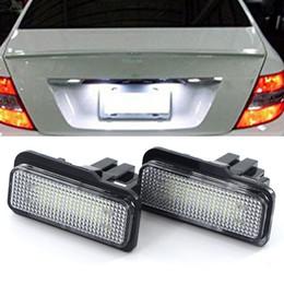 2 adet 12 V LED Plaka Ampul Için Hiçbir Hata Canbus Mercedes Benz W203 W211 W219 6000 k Beyaz Numarası Plaka lambası nereden