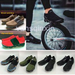 Wholesale Black Lace Belt - Air Vapormax moc black Brown belt Running Shoes For Men & Women High Quality Vapor breathable Camouflage Green Red Sports Shoes Eur40-45
