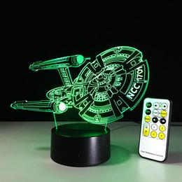 Wholesale Change Table Lamp - Cartoon 3D LED USB RGB Lamp 7 Color Changing Black Knight Lampada Table Night Light Boy Decor Gifts Lava Blubing#ly1