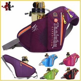 Borse da viaggio Running Fanny Women Pack Pouch Belt Men Borsa da tasca per cellulare Custodia da campeggio Sport da escursione con portabottiglie da