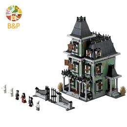 lepin blocks Australia - Legoing 10228 2141Pcs Movies Series The haunted house Building Block Bricks Toys for Children Gift Lepin 16007