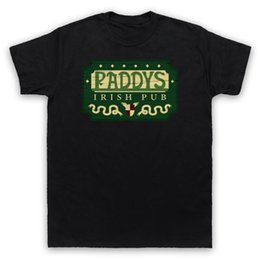 2019 ирландские таблички Ирландский паб Пэдди знак прохладный питьевой бар мужские женские дети футболка прохладный с коротким рукавом мужчины Майка мультипликационный персонаж дешево ирландские таблички