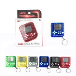 Mini jeu électronique en Ligne-Palmtop mini jeu électronique console tetris jeu nostalgie jouet Tamagotchi Drôle Enfants Jouets console de jeu cadeaux de Noël