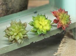 piante di loto di plastica Sconti Simulazione di plastica bonsai pianta in vaso di simulazione di nozze fiore all'ingrosso Mini Lu loto decorazione della casa fiore finto W138