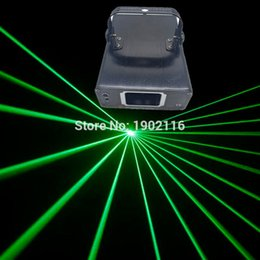 Wholesale Disco Scanner Lights - 100mw Green Laser Stage Lighting Effect DMX512 Scanner Stage Light Laser Projector DJ Disco Party Show Lights linear Beam