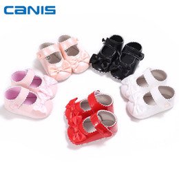 10b80df957d 2018 Brand New Toddler Newborn Infant Baby Girl Princess Shoes Kids  Childrens Bow Pram Wedding Christening Party First Shoes