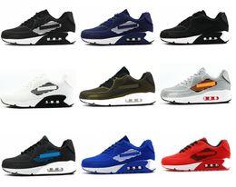 marcas de calçado para homens Desconto Chegada nova marca de sapatos almofada de Ar Breatheable men calçado presta Sneakers alta qualidade 90 homens Running Shoes Men Sports jogo de sapatos