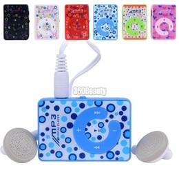 Mezcla de jugadores online-Promoción Orden de mezcla ventas al por mayor Mini Clip USB MP3 Reproductor de música multimedia con ranura para tarjeta Micro TF / SD y auricular