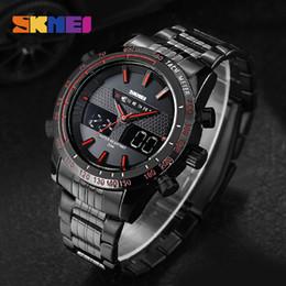 SKMEI Relojes Deportivos Hombres Cronógrafo Digital Relojes de pulsera de Cuarzo Cronógrafo Impermeable Reloj Alarma Al Aire Libre Relogio masculino 1131 desde fabricantes