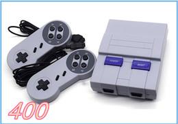 Wholesale Nes Snes - Super Mini Classic SFC TV Handheld Game Console Entertainment Classic games SFC NES SNES Games Console With Engilsh Retail Package