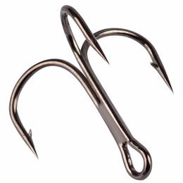 ganchos de gabarito mustad Desconto 50 pc FishHook Gancho De Pesca De Aço Carbono Agudos Gancho Equipamento De Pesca Rodada Curvado Agudos Saltwater Bass