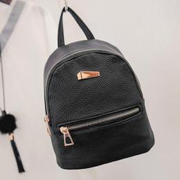 87a4533861595 kunstleder rucksäcke Rabatt Mode Faux Leder Mini Rucksack Mädchen Reisen Schule  Rucksack Tasche