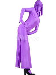 Traje de dos piezas de Lycra Zentai de fiesta de carnaval de Halloween de alta calidad con vestido y pantalones desde fabricantes