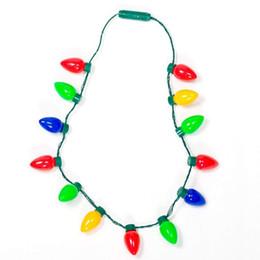 Многоцветный мигающий рождественские лампы Светодиодные ожерелье свет вверх партия выступает лучшие партии огни ожерелье рождественские украшения 12 луковицы 13 лампы cheap multicolor christmas lights for от Поставщики многоцветные рождественские огни для