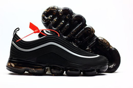 red high shoes Coupons - 2018 New Arrival Vapormax 97 KPU Casual Mens Shoes for High quality 97s Red Black White Fashion Sports Training Sneakers Outdoors EUR 40-47
