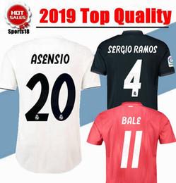 7eea0587d69 2018 2019 Real Madrid Soccer Jersey 18 19 VINICIUS JR Modric Soccer shirt  2019 SERGIO RAMOS KROOS ISCO ASENSIO BALE Football uniform