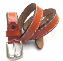 Wholesale Black Metal Letters - High quality designer belts men Jeans belts Cummerbund belts For men Women Metal Buckle with the box13