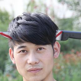 Giocattoli terroristici online-Hot Halloween Costume Party Supplies Gioco Show Divertente Tricky intero giocattolo Terrorist Wear Head Knife S3723