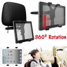 Ipad мини-сиденье заднее крепление онлайн-Универсальный автомобильный держатель подголовника заднего сиденья для iPad 2 3 4 5 Air Mini Tablet