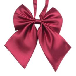 2019 legame di arco di novità Papillon homme gravatas regalo di nozze di alta qualità delle ragazze delle ragazze di modo unico novità big bow papillon regalo di nozze legame di arco di novità economici