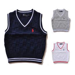 2019 moda de alta calidad nueva marca para niños suéter ropa de bebé primavera / otoño / invierno niños y niñas niños polo prendas de vestir exteriores suéteres 007 desde fabricantes