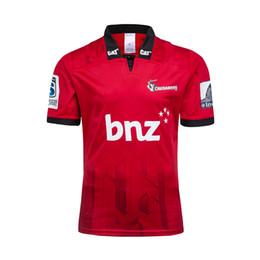 Camisa grande xxl online-tamaño grande 4xl 5xl! Nueva Zelanda Super Rugby Jersey 2019 Crusaders en casa camiseta de Rugby Jerseys