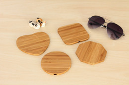 Deutschland Wooden Wireless Ladegerät Platz Bambus Shell Qi Wireless Ladegerät Apple 8iPhoneX Android Universal cheap bamboo wireless charger Versorgung