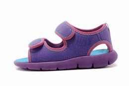 9 colori 2018 nuovi sandali vendita calda con cinturino in gomma web ragazzi ragazze moda coperta sandali infradito taglia eur24-35 spedizione gratuita da