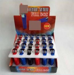 2019 caixa de caixa secreta 24 pçs / lote Diversão Cofres Caixa de Esconderijo Segredo Segredo Seguro Pílula caso recipiente Caixa de Jóias 4 cores com caixa de exibição de Presente de Natal caixa de caixa secreta barato