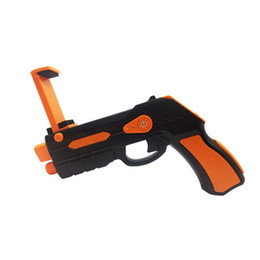 game sell phone Coupons - 2018 Hot Sell Portable Virtual AR Game Gun Bluetooth AR Toys Gun Ar Blaster for iPhone Android Smart Phone