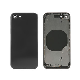 2019 boîtier intermédiaire iphone Pour IPhone X iPhone 8 8 Plus, châssis moyen, couvercle de la batterie + boutons latéraux + tiroir pour carte SIM, les modèles de mélange sont acceptés promotion boîtier intermédiaire iphone