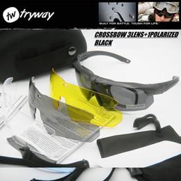 стрельба Скидка Тактические армейские очки HD поляризованных очки TR90-доказательство gafas UV400 съемки защитные очки