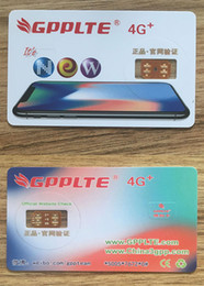 Wholesale Free T Mobile - Brand New GPPLTE 4G+ PRO3 ICCID Unlocking Sim For sprint au softbank at&t t-mobile iPhone X 8 7 6 5 IOS11.3 with Free DHL