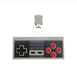 Wholesale Button Gamepad - 2018 Wireless USB Plug game Controller Gamepad for Nintendo NES Mini Buttons Classic Edition JoyStick With Wrireless Receiver