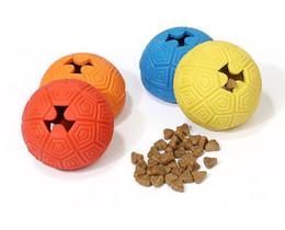 Argentina 1 UNID Creativo Juguetes para Perros Shell Tortuga Forma Snacks Ball Nuevos Juguetes para Mascotas Material de Caucho Natural No Tóxico Puede Poner Bocadillos Suministro