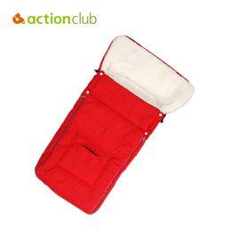 Wholesale Sleep Bags For Babies - Actionclub New Arrival Baby Sleeping Bags Warm Winter Envelope For Newborn Fur Stroller Thicken Baby Sleeping Bags Sleep Sacks