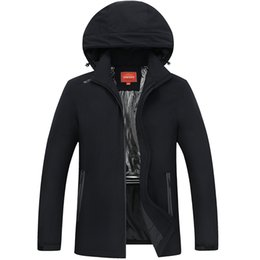 Wholesale Cargo Jackets - 2017 Winter Men Plus Size 8XL 6XL 5XL heating Casual Men's Winter Jackets Thick Padded Hooded Coat for Men Male Cargo Clothing