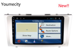Wholesale canada car stereo - Octa Core 1024*600 Screen2G RAM Android 8.1 for Toyota Camry 2007 2008 2009 2010 2011 car dvd gps navigation radio player stereo wifi BT RDS