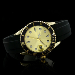Wholesale Diver Men Watches - 2018 New luxury brand Sub AAA Mens Silicone Strap Automatic Date Men Quartz Watch Sports mens roles Watches Men Fashion Business watches