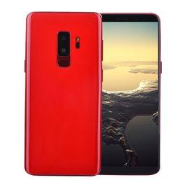 klonen von handys Rabatt 4G LTE Goophone S9 + Plus V2-Klon Octa-Kern 6,2 Zoll Vollbild-Gesichts-ID Fingerabdruck Android 7.0 13MP Kamera Dual-Nano-Sim-Karte Smart Phone