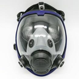 2019 princesa pelo ups Actualización al por mayor completo máscara de la cara de la mascarada para los hombres 3M 6800 Gas máscara completa máscara del respirador Para Pintura Pulverización envío