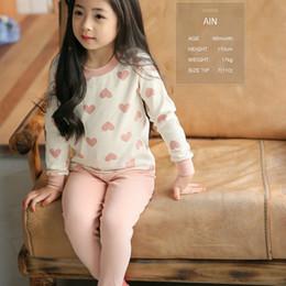Wholesale Toddler Pijamas - Kids Pijamas Sleepwear Girls Pyjamas Kids Pajamas Sets 2-8Y Clothes Nightwear Homewear Toddler Clothes Girls Suits CC397