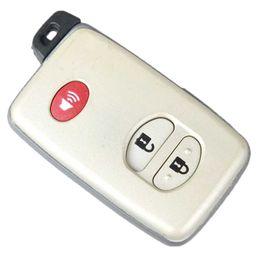 Llaves de toyota highlander online-2 + 1 Botón de encendido remoto inteligente Shell para automóvil TOYOTA Camry Crown Highlander Venza Case