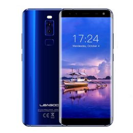 Wholesale Micro Usb 32gb - Leagoo S8 3GB 32GB ROM Smartphone Octa Core MTK6750T 5.72 Inch Android 4 Cameras HD+ 4G Mobile Phone