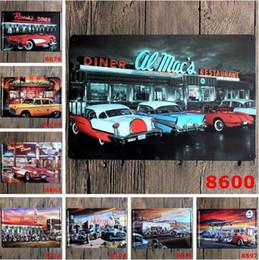 Wholesale Wholesale Metal Tin Signs - 20*30cm Metal Tin Sign Pep Boys Pershing Square Car Tin Poster Rectangle Iron Paintings CCA9709 160pcs