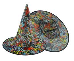 Costumes d'Halloween Halloween décor Assistant Hatwitch Hat Spires Hat Stage Prop carnaval danse de Noël Masquerade Party chapeaux fournitures 34 * 38m ? partir de fabricateur