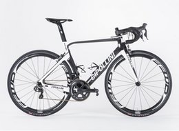 Wholesale wheel black 18 - White-Black MCipollini NK1K Copmplete Bicycle full carbon road bike Cipollini with 5800 R8000 Groupset 50mm carbon wheels free shipping